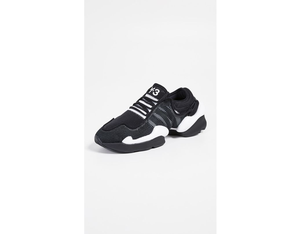 a1cb8433a Lyst - Y-3 Ren Sneakers in Black for Men - Save 40%