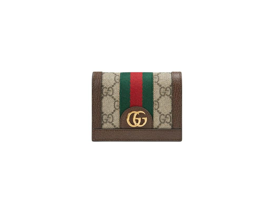 f1dc513f77a Lyst - Gucci Ophidia GG Card Case - Save 32%