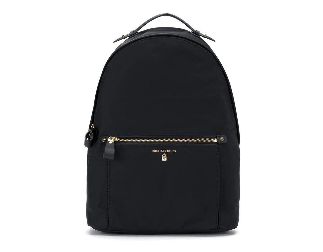 eeaf1658e0d2 Lyst - MICHAEL Michael Kors Kelsey Backpack in Black