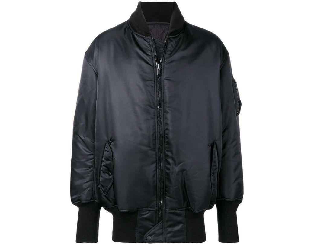 d2518e0f147e7 Y-3 Y3 Adidas X Yohji Yamamoto Rear Logo Bomber Jacket in Black for ...