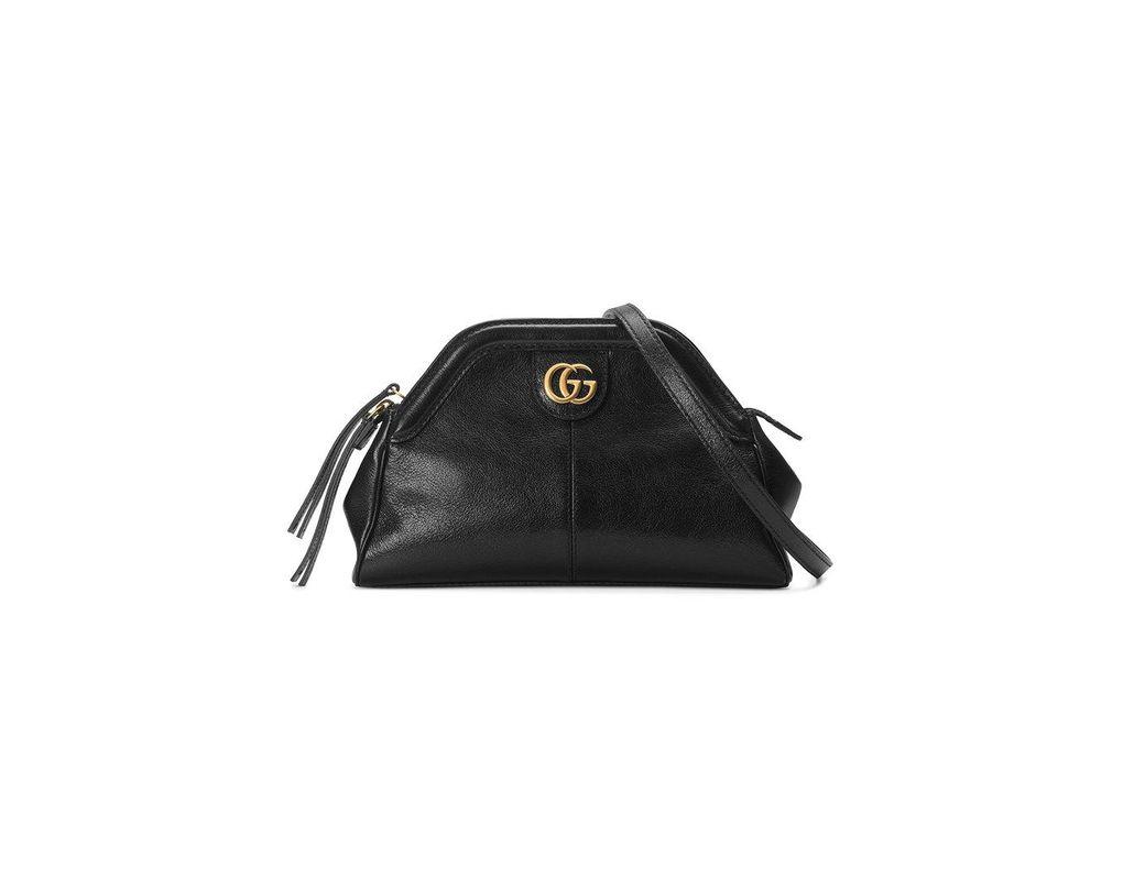 c76ba9f7c6e Lyst - Gucci Re(belle) Small Shoulder Bag in Black
