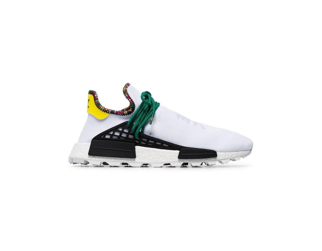 b6d52e637 Lyst - adidas X Pharrell Williams White Human Body Nmd Sneakers in ...