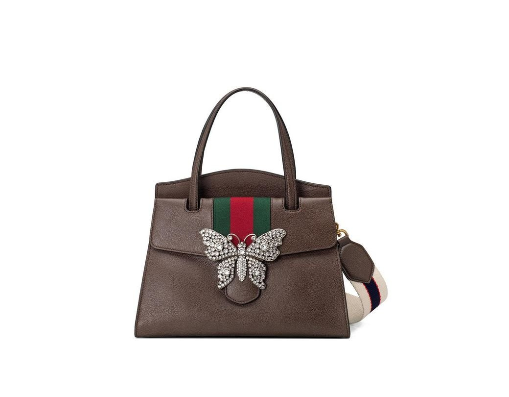 0d57b607a20 Lyst - Gucci Totem Medium Top Handle Bag in Brown - Save 57%