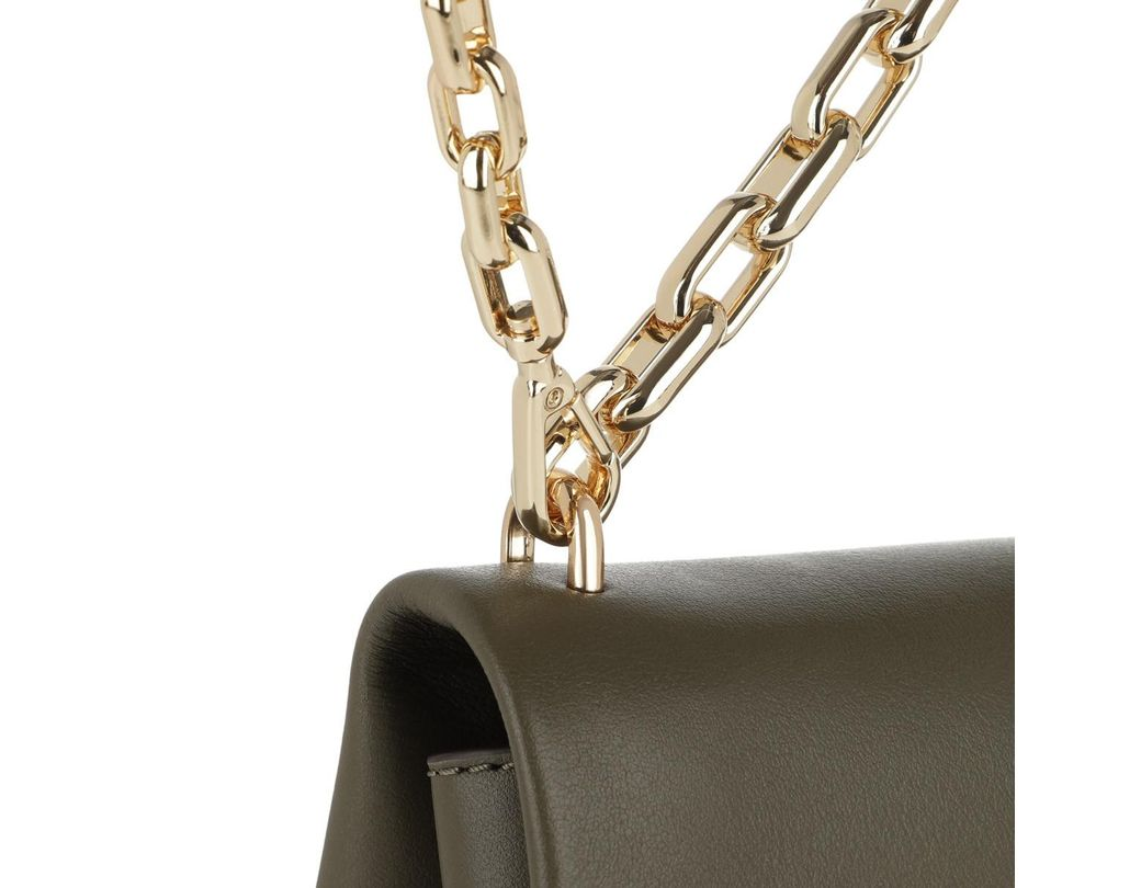 9aa88cb30 Michael Kors Cece Extra Small Chain Crossbody Bag Olive in Green - Lyst