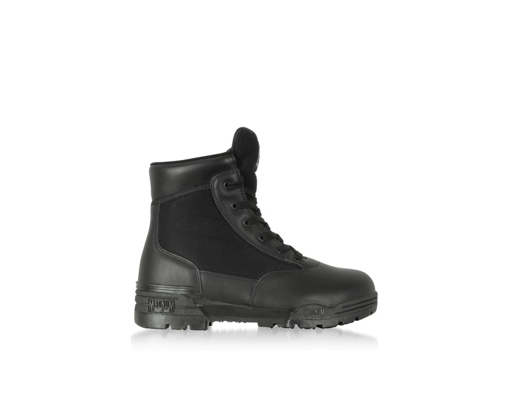 3f5abae73 Hi-Tec Magnum 6 Classic Black Mesh And Leather Unisex Boots in Black for  Men - Lyst