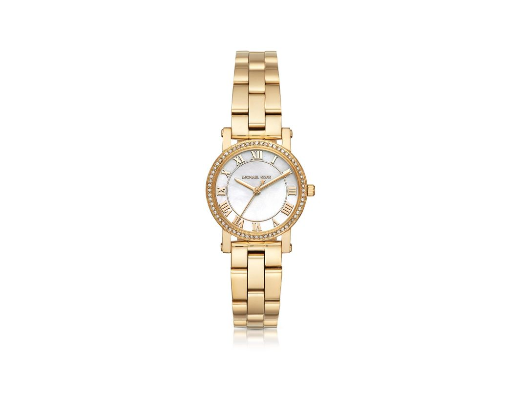 2121fe20336b Long-Touch to Zoom. Michael Kors - Metallic Ladies Norie Watch Gold ...