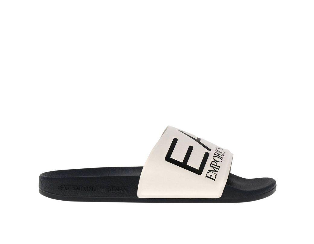 b787ebb00 Lyst - EA7 Sandals Shoes Men in White for Men
