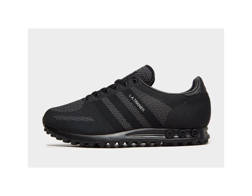 7da380e95c635 Lyst - adidas Originals La Trainer Woven in Black for Men