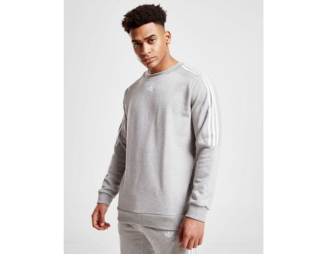 Lyst adidas Originals Radkin Crew Sweatshirt in Gray for Men
