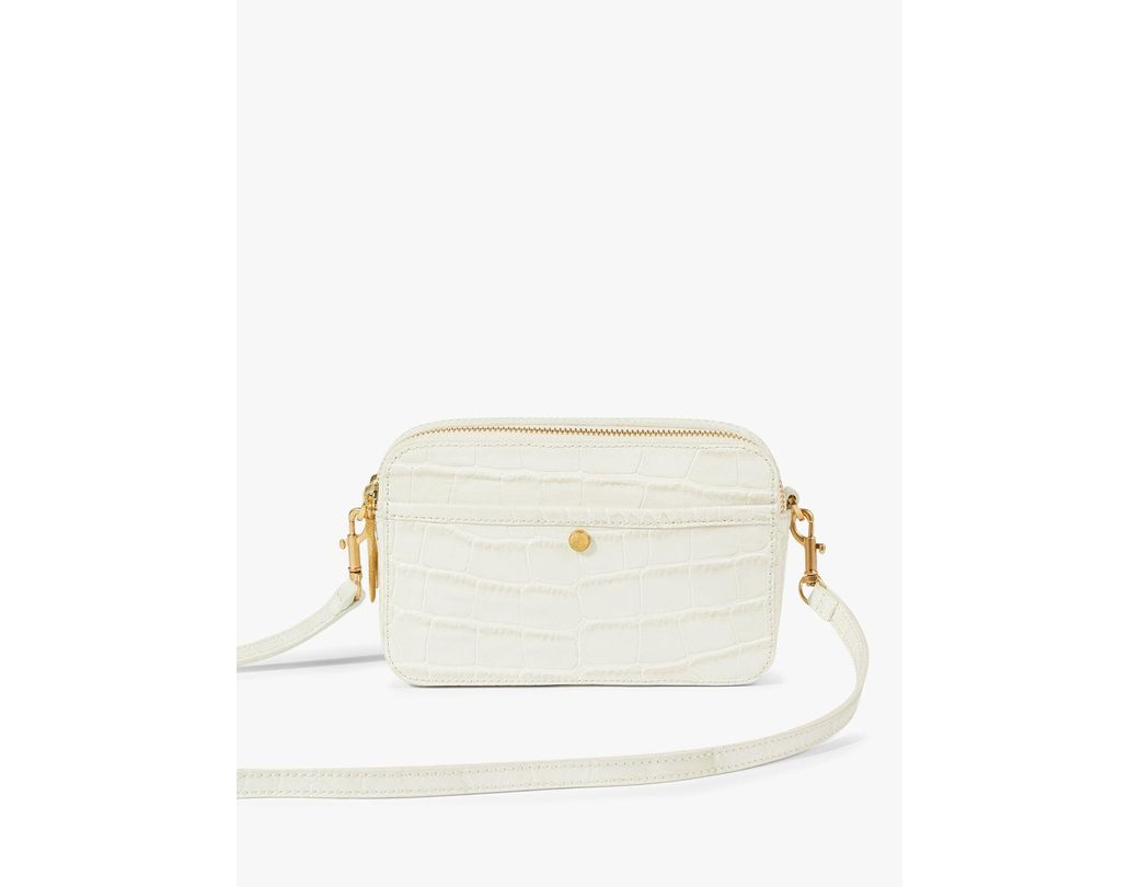 dc5c2143e Jigsaw. Women's Natural Wren Croc Embossed Leather Cross Body. £98 From John  Lewis and Partners