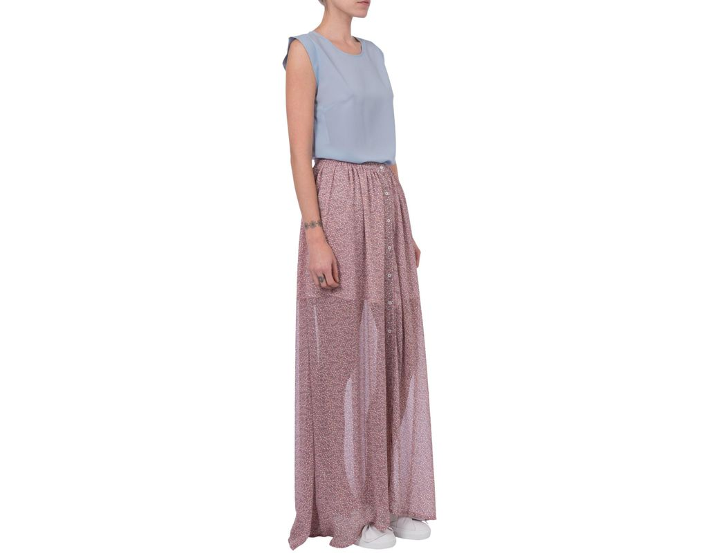 7c7c2bbf52 French Connection Elao Sheer Maxi Skirt - Save 11% - Lyst