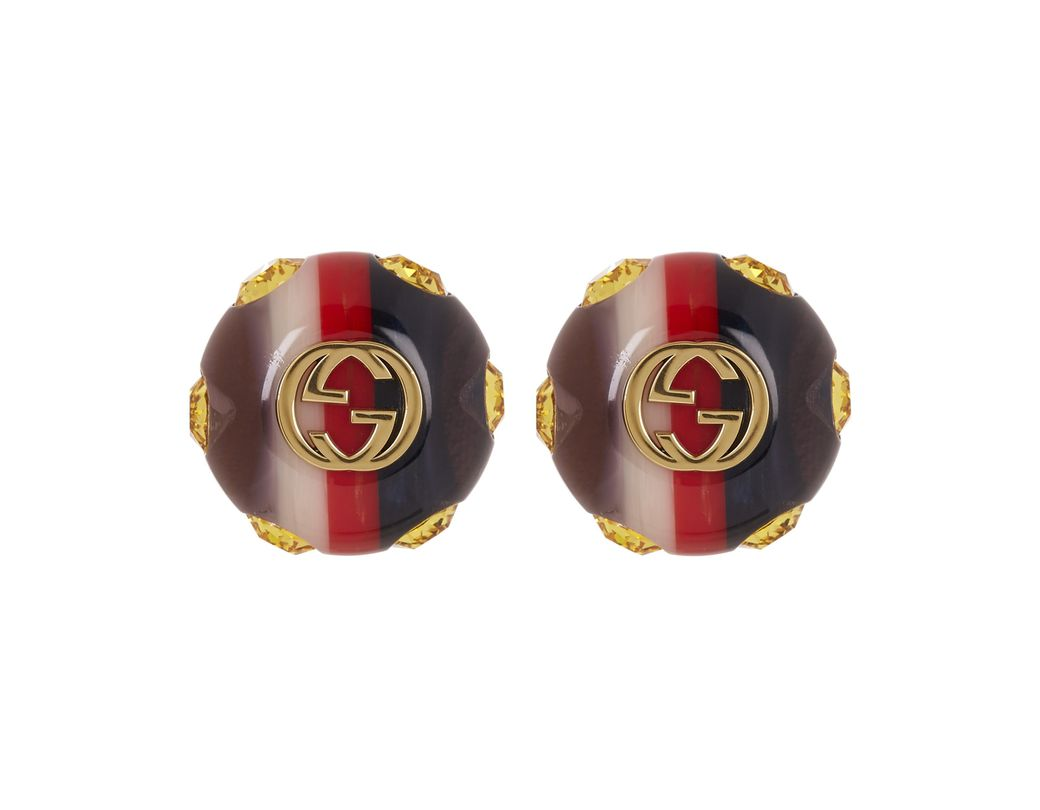 cd8e8f59ce9 Gucci. Women s Vintage Sylvie Web Stud Earrings