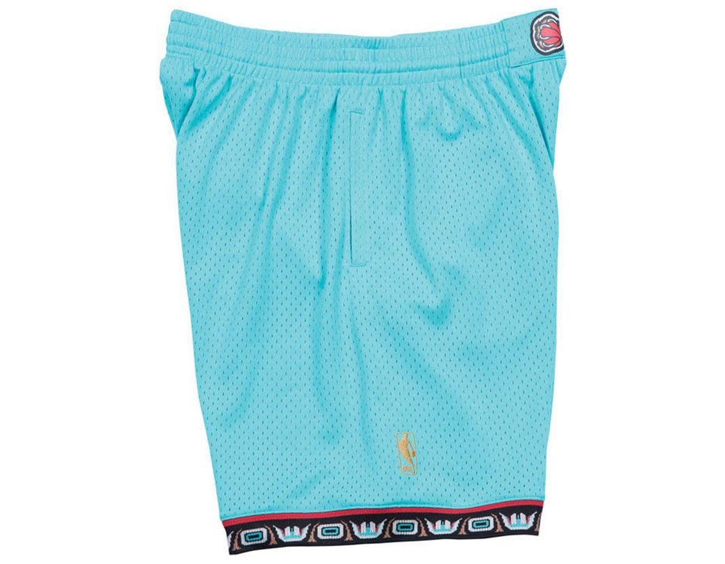f4bf7845cb Mitchell & Ness Vancouver Grizzlies Swingman Shorts in Blue for Men - Lyst