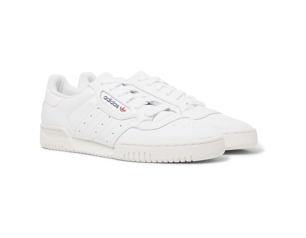 e316a56953ef2 adidas Originals Powerphase Leather Sneakers in White for Men - Lyst