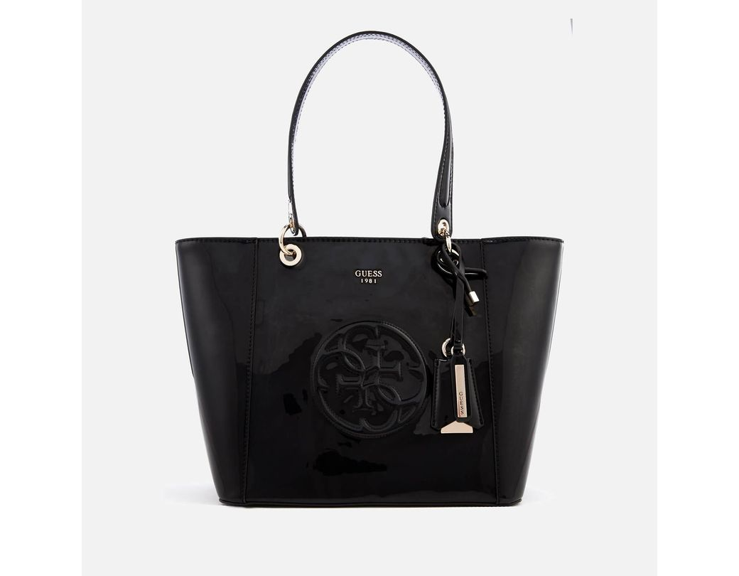 a442828da Guess Kamryn Tote Bag in Black - Lyst