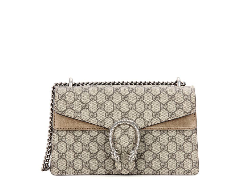 140bfc212b3 Lyst - Gucci Small Dionysus Gg Supreme Shoulder Bag