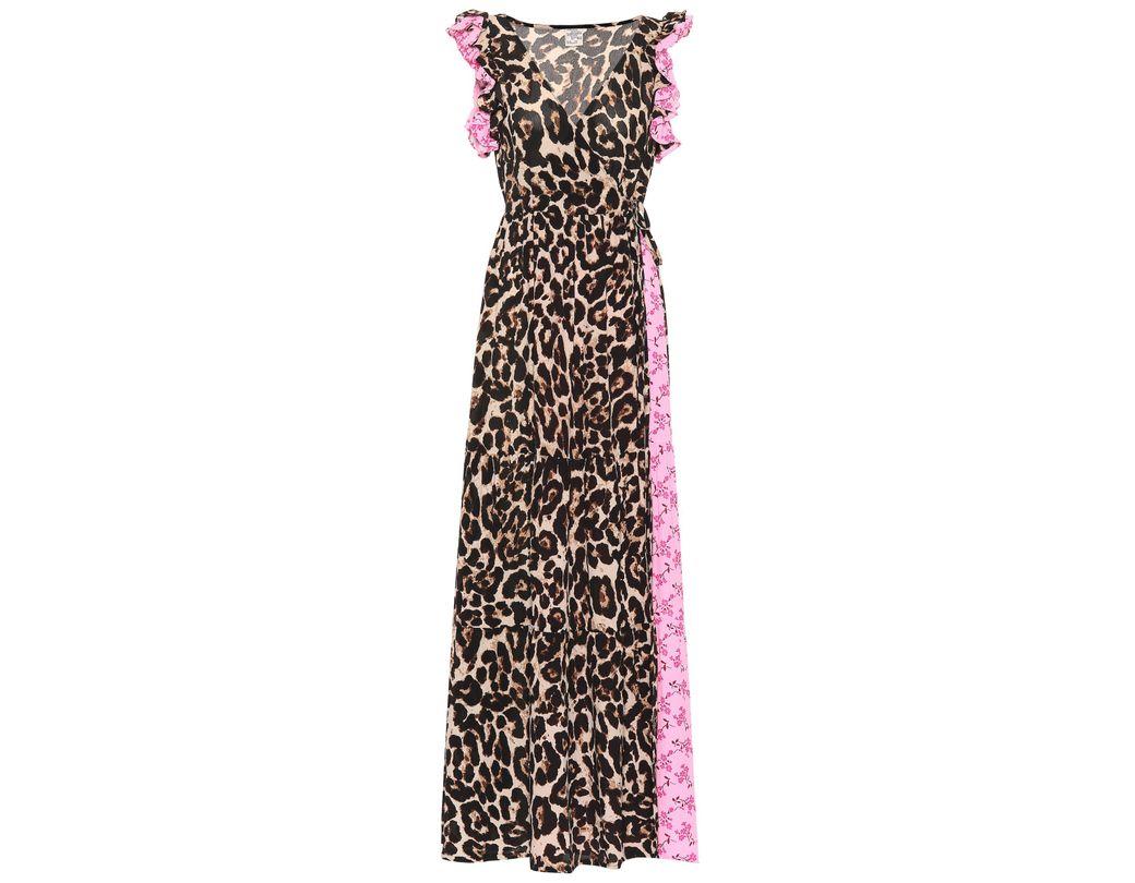 7120607c8 Exclusivo en Mytheresa - vestido largo Aiza estampado Baum und Pferdgarten  de color Rosa - Lyst