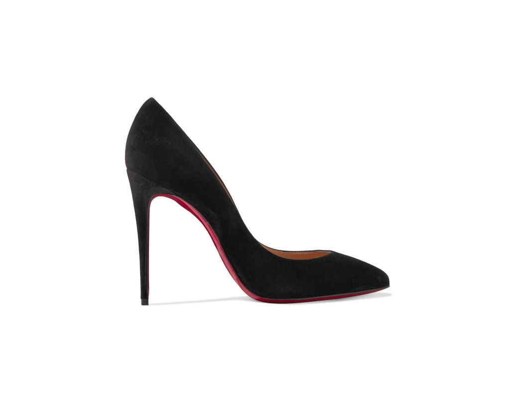 b78c09e5f786 Christian Louboutin Pigalle Follies 100 Suede Pumps in Black - Lyst