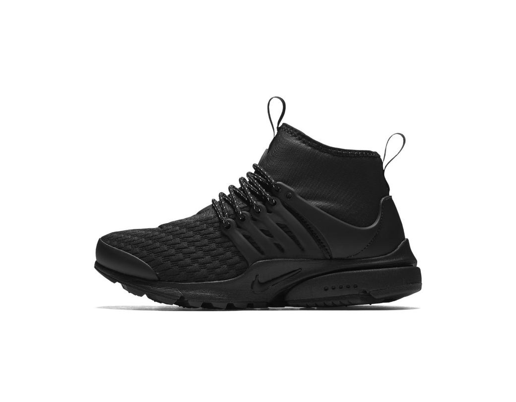 cc7cfd4cd06f Lyst - Nike Air Presto Mid Utility Premium Women s Shoe in Black for Men