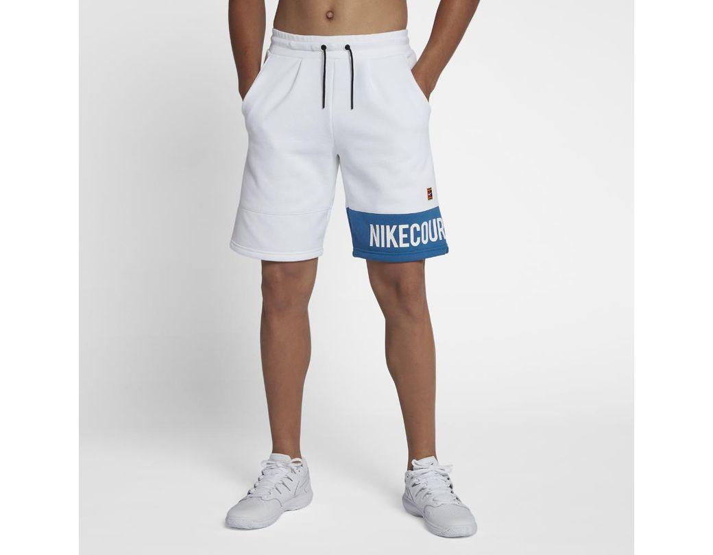 7028f2b21f452 Lyst - Nike Court Men s Tennis Shorts in White for Men