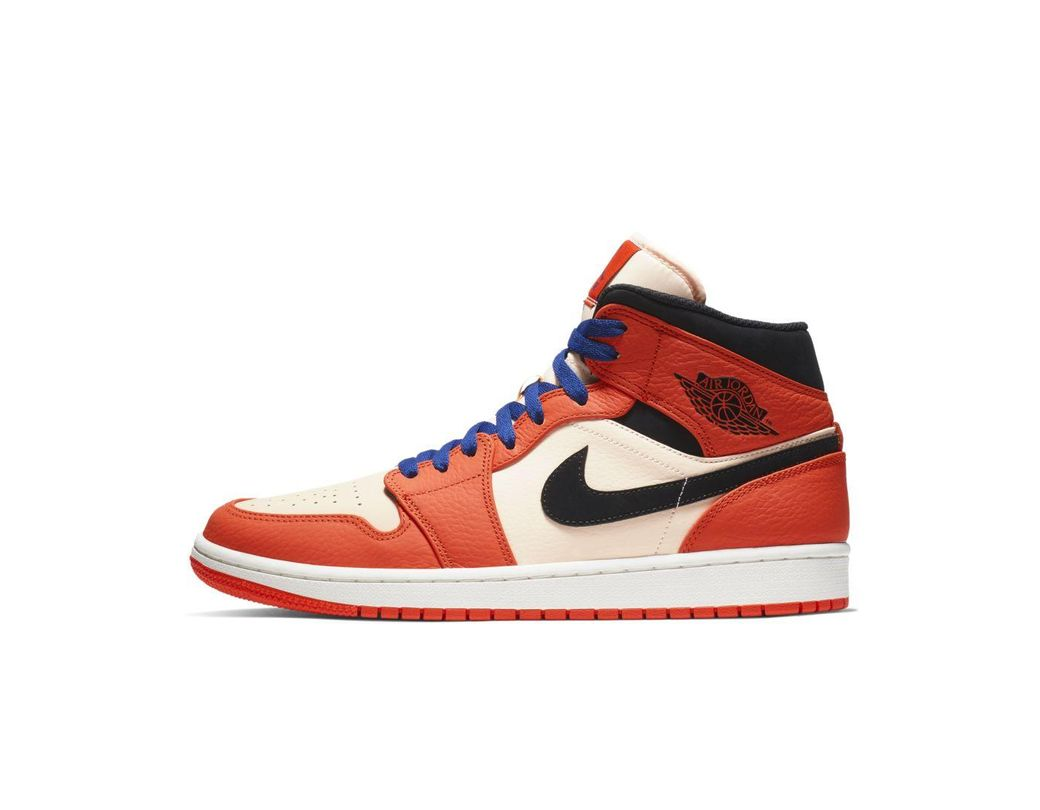 a2868fcd79ad Lyst - Nike Air Jordan 1 Mid Se Shoe in Red for Men