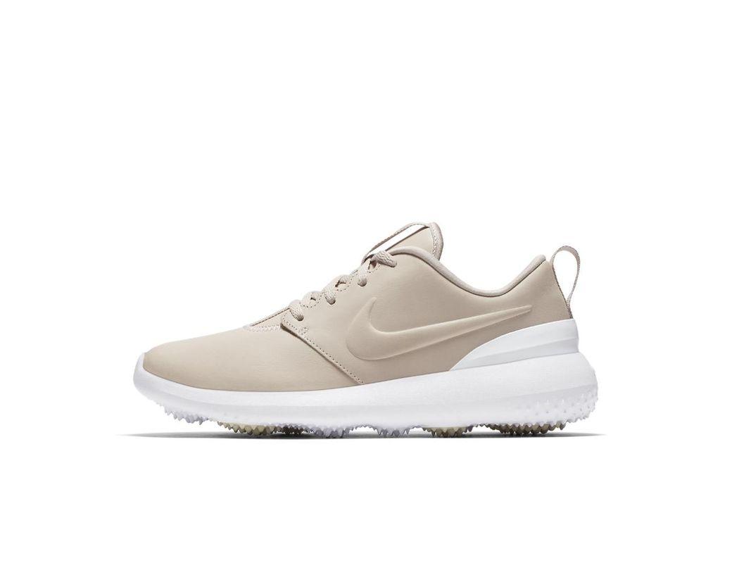 236546ac9543 Lyst - Nike Roshe G Premium Women s Golf Shoe in White