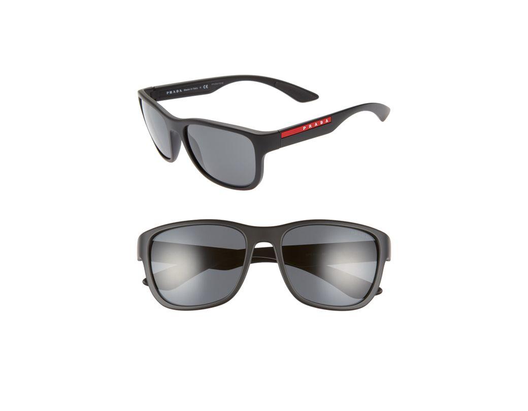 62935307e6cdb Lyst - Prada Sport 59mm Sunglasses - for Men