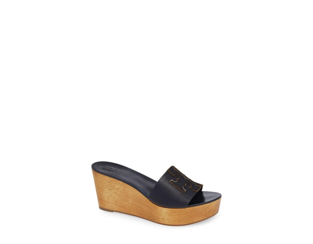 d223b8787 Lyst - Tory Burch Ines Wedge Slide in Blue - Save 33%