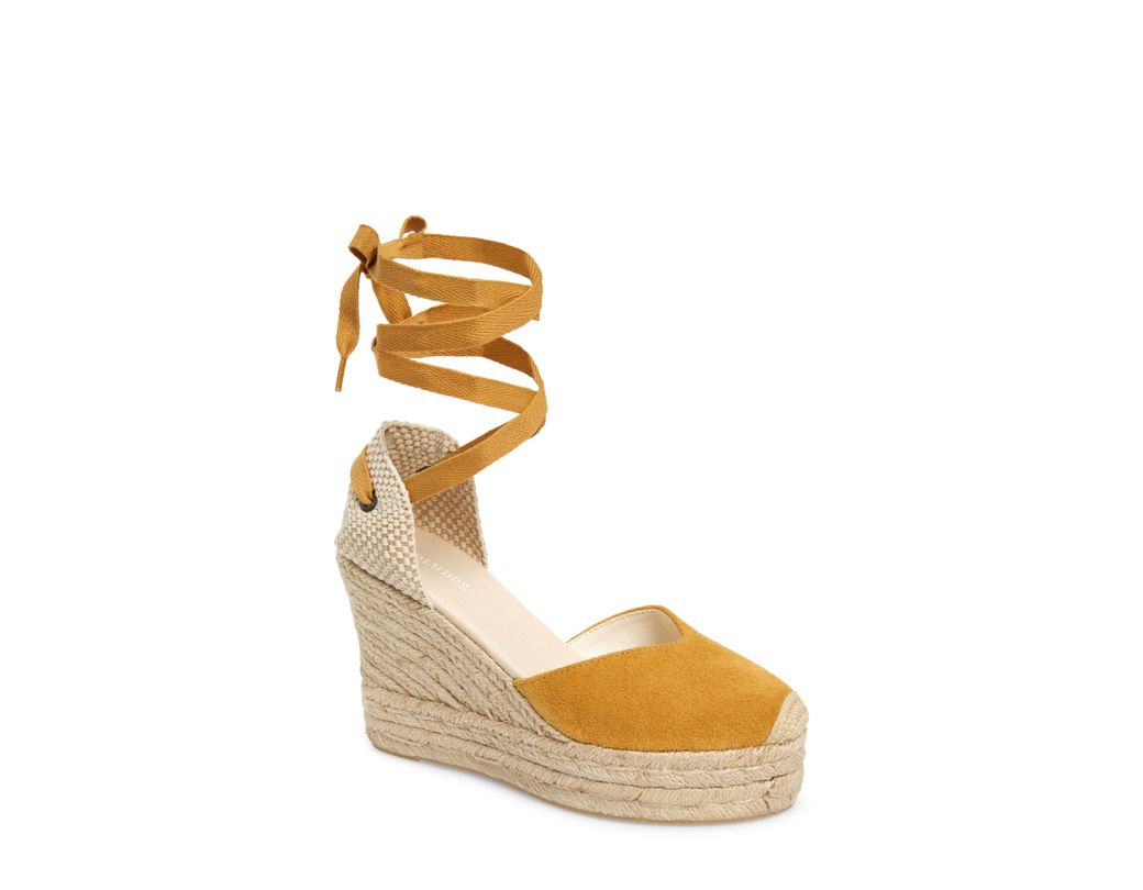 64be67c5a Soludos Mallorca Wedge Espadrille in Metallic - Save 1% - Lyst