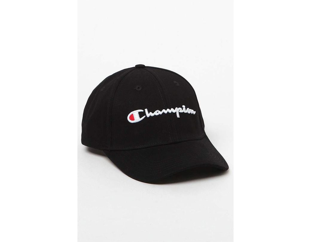 8aba5c948 Lyst - Champion Classic Twill Strapback Dad Hat in Black for Men