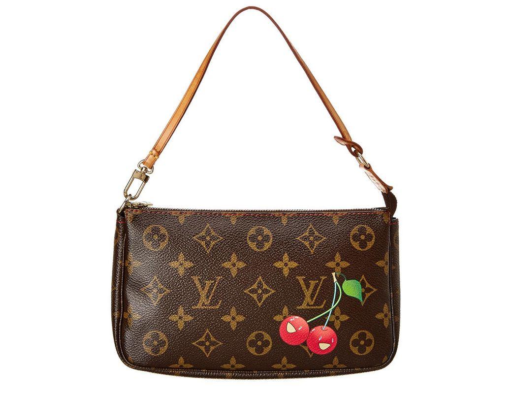 fa3fac8373431 Louis Vuitton. Women s Brown Limited Edition Takashi Murakami Cherry Blossom  ...