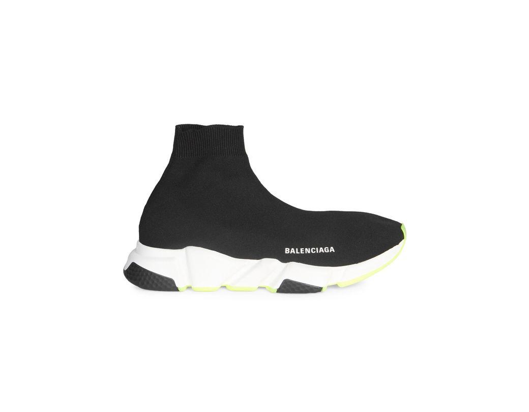 1f035c851c7b Lyst - Balenciaga Men s Speed Trainer Sock Sneakers - Black in Black ...