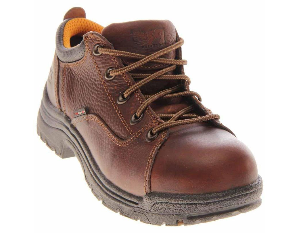 e0faffd87bb Lyst - Timberland Titan Alloy Toe Work Shoes in Brown