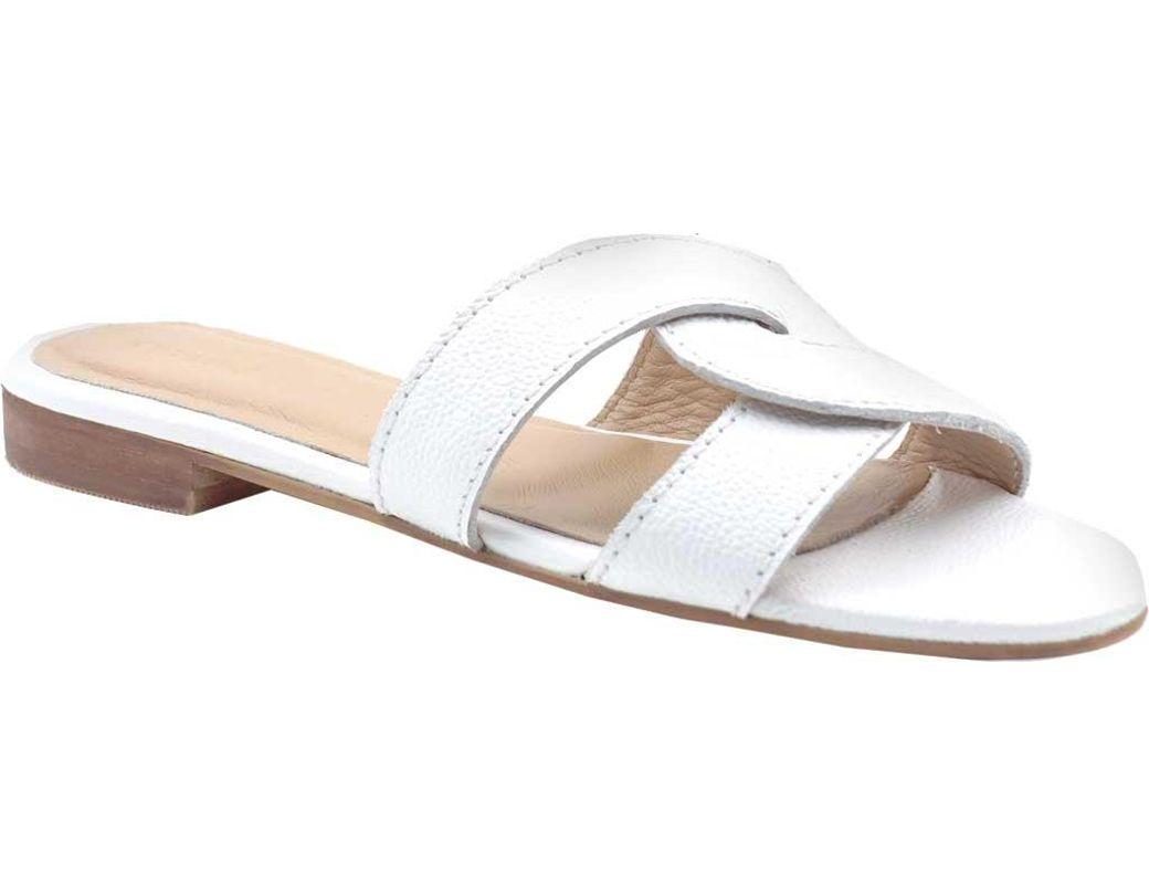 983c3c580 Lyst - Kaanas Santorini Infinity Sandals in White - Save 1%