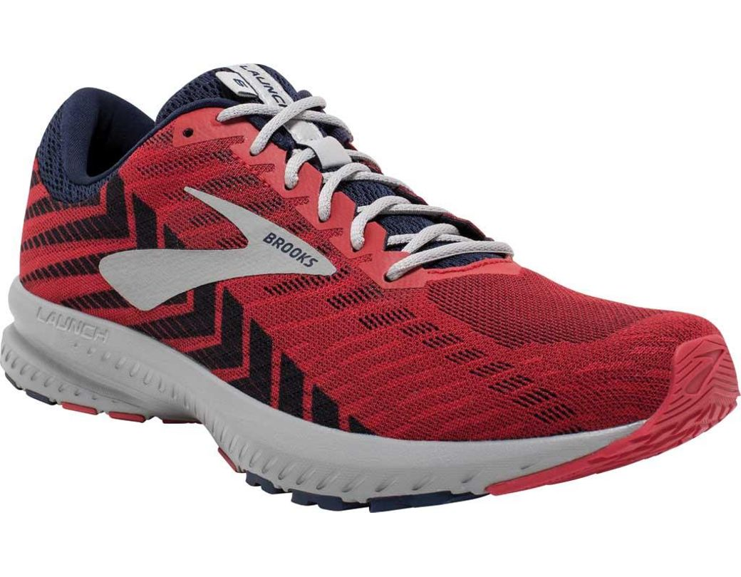 645aa6a505c Lyst - Brooks Launch 6 Running Shoe in Red for Men