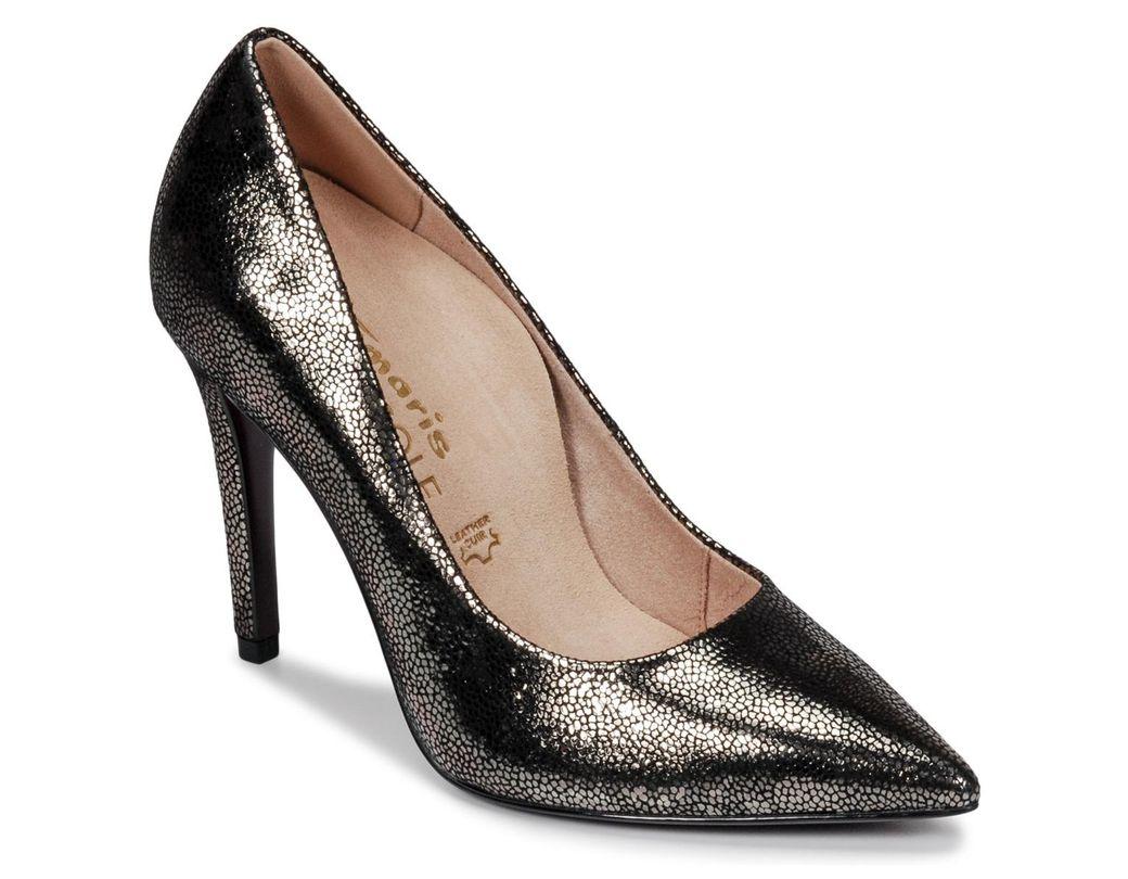 4f644dd06e Escarpins Tamaris Coloris Noir Femmes 22439 En Chaussures qSMzpUV. «