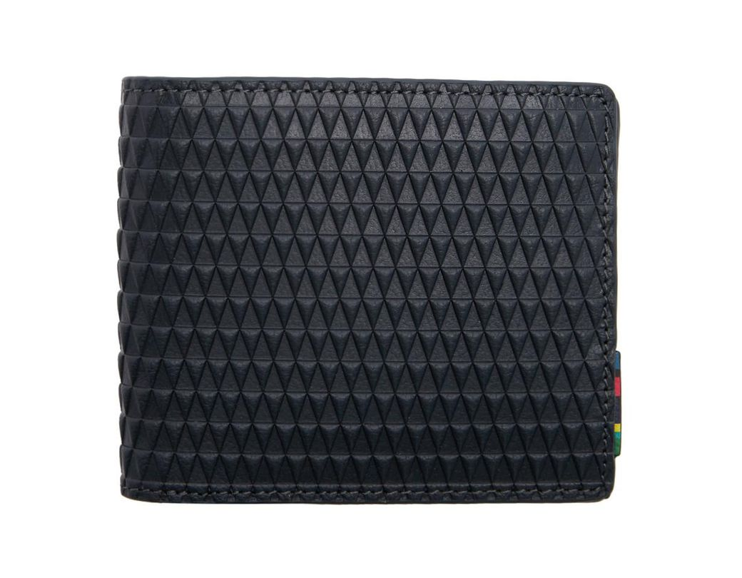 3810fab113 PS by Paul Smith Black Apenna Bifold Wallet in Black for Men - Save 34% -  Lyst