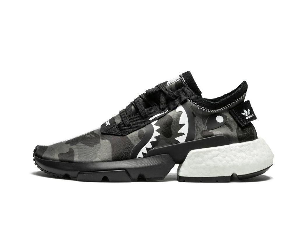 c9d2b8d93e806 Lyst - adidas Nbhd Bape Pod S3.1 in Black for Men