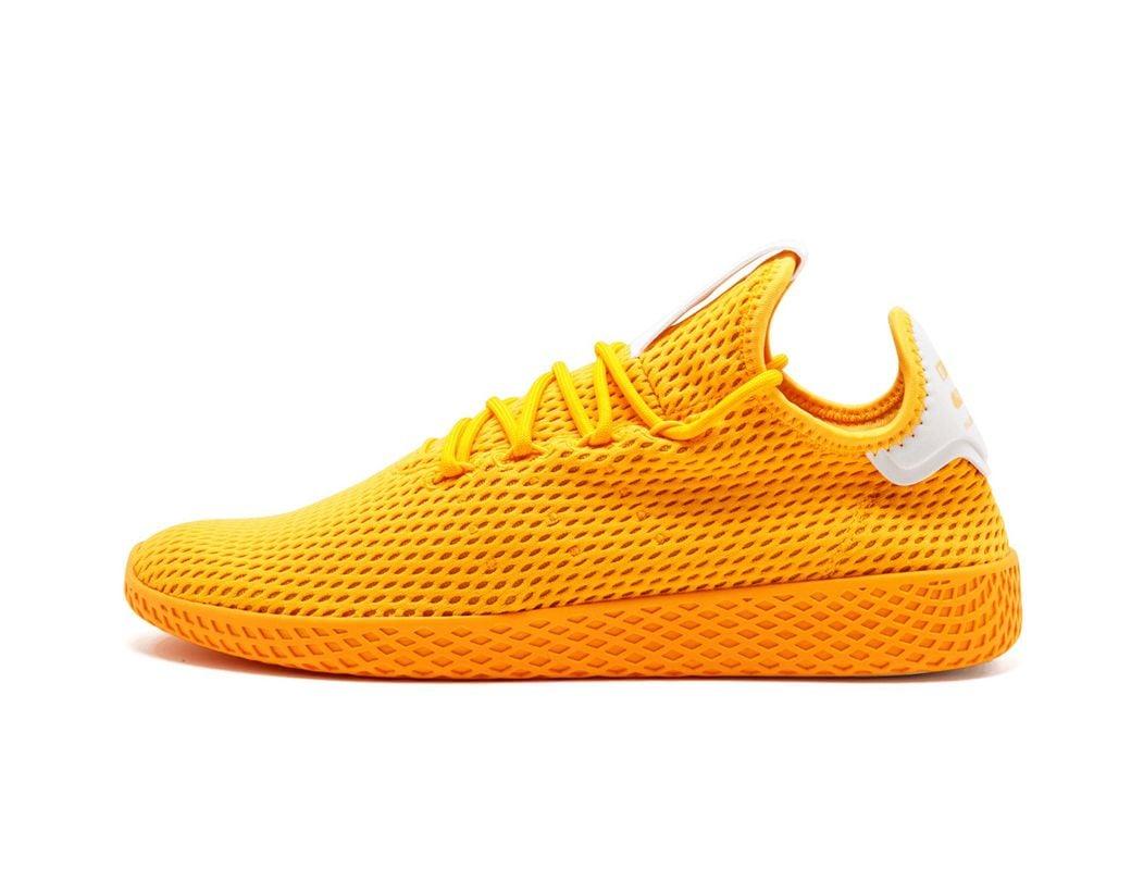 f473c370f adidas. Men s Orange Pw Tennis Hu Collegiate Gold ftw White  pharrell  Williams