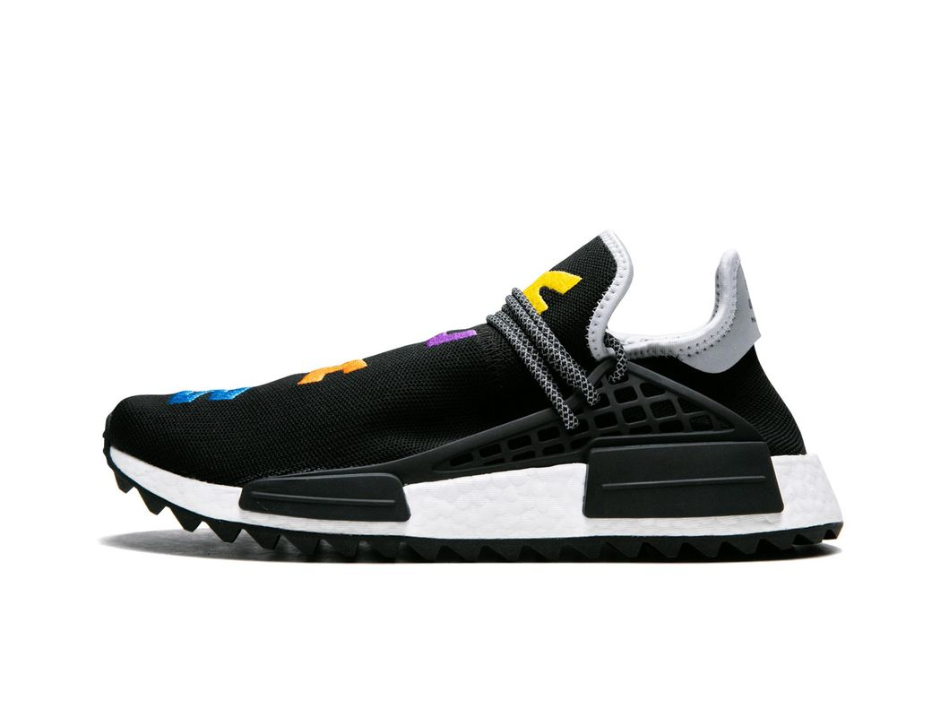 42c87e30f adidas Pharrell Williams Hu Nmd Tr in Black for Men - Lyst