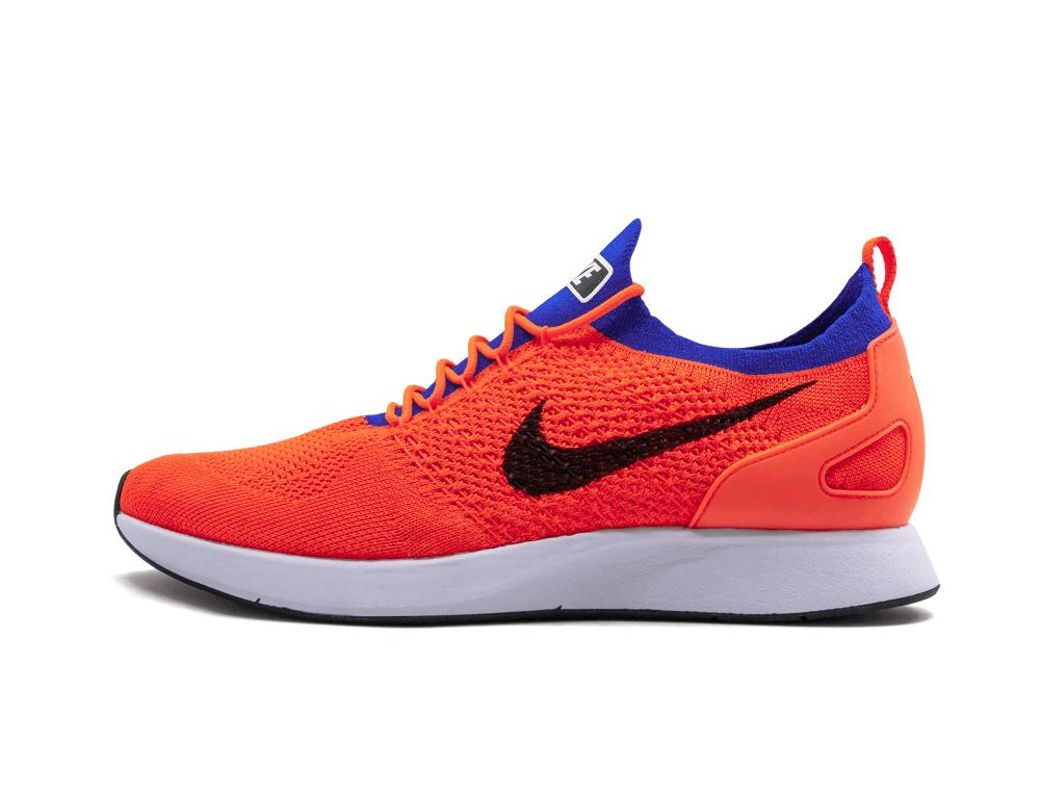 99d1a4743be2 Long-Touch to Zoom. Nike - Blue Air Zoom Mariah Flyknit Racer Totalcrimson  black ...