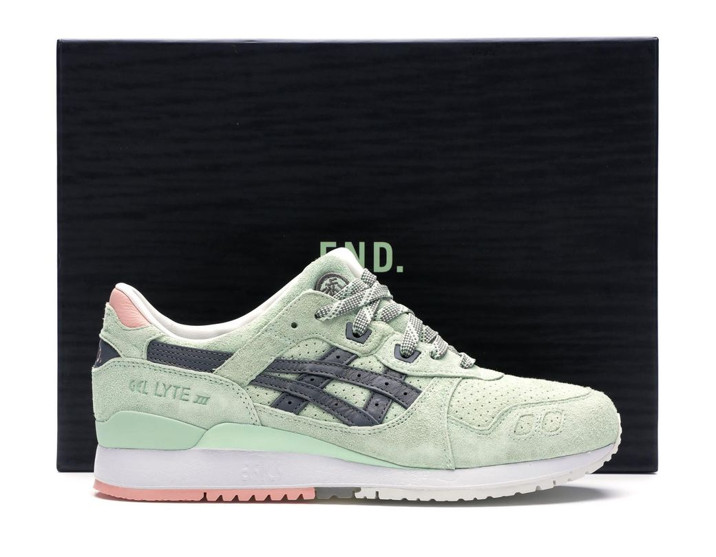 super popular 411a3 e62d1 Lyst - Asics Gel-lyte Iii End Wasabi (special Box) in Green ...