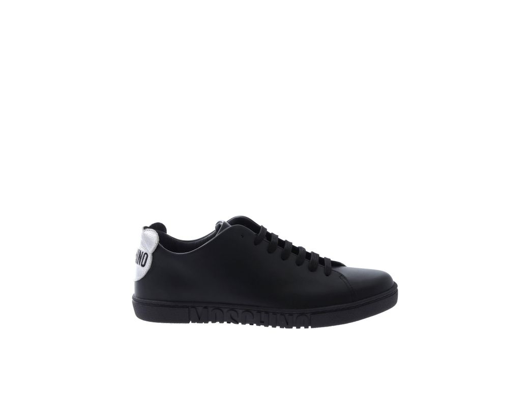 Moschino Rubber Teddy Sneakers in Black Lyst