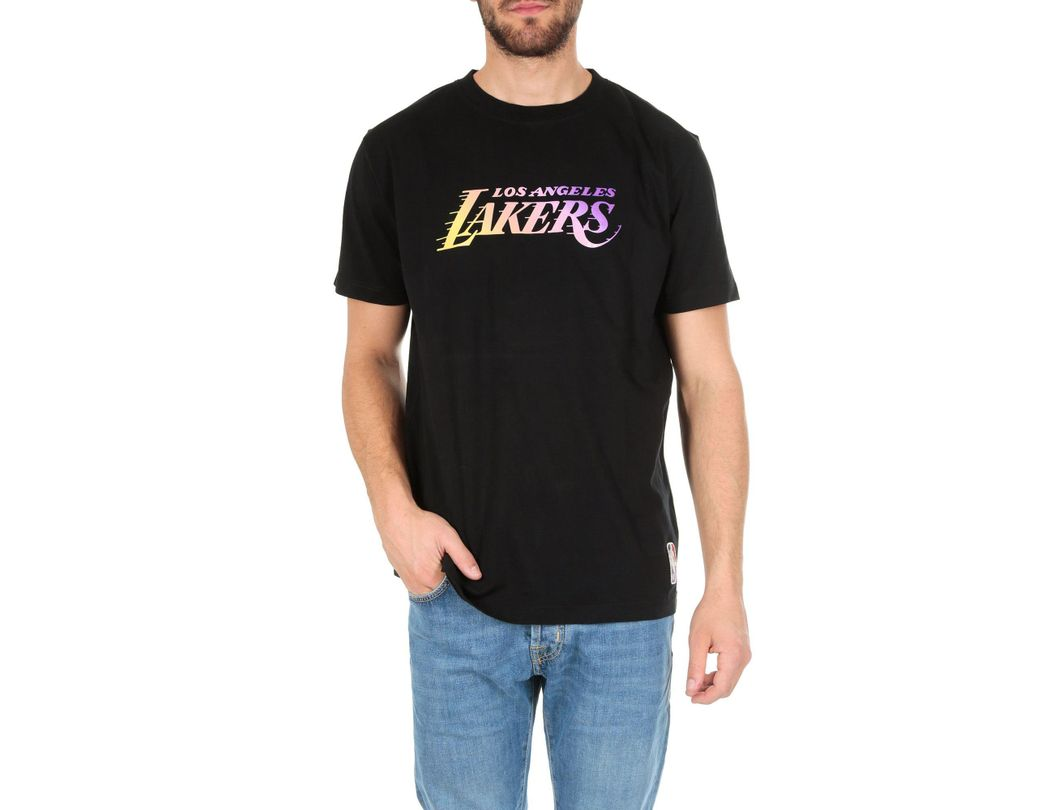 93604143b11 Marcelo Burlon Lakers Logo T-shirt In Black in Black for Men - Lyst