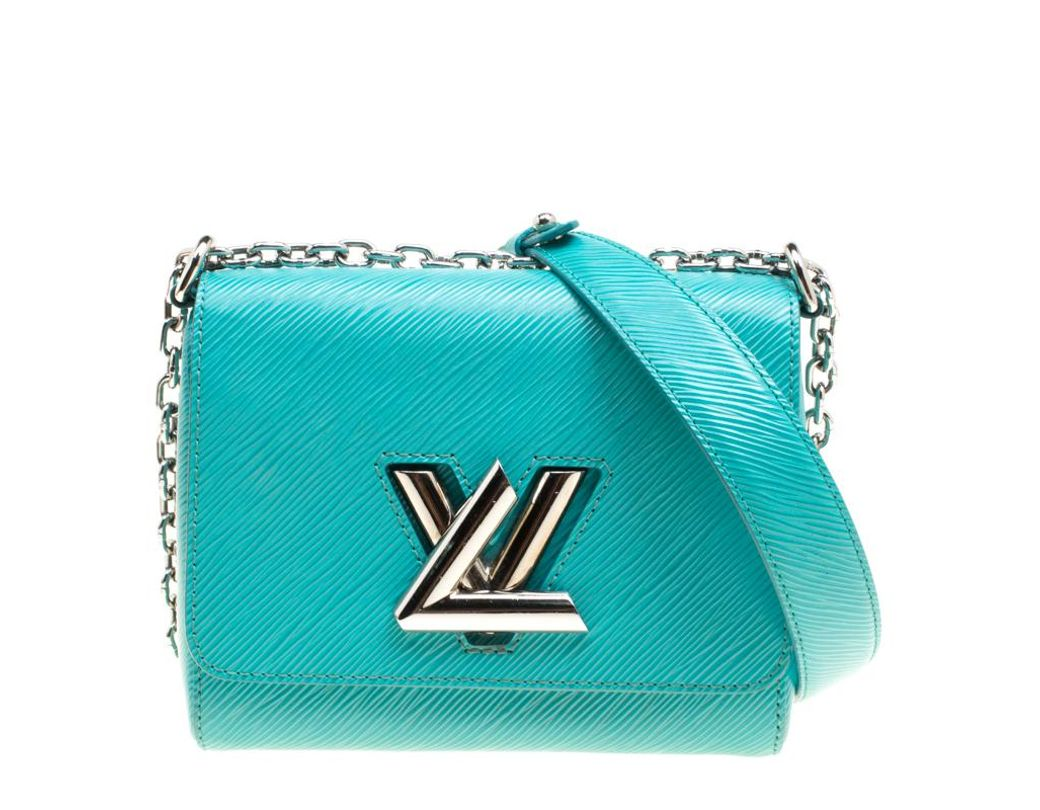 033b749b1f86 Louis Vuitton Turquoise Epi Leather Twist Pm Bag in Green - Lyst