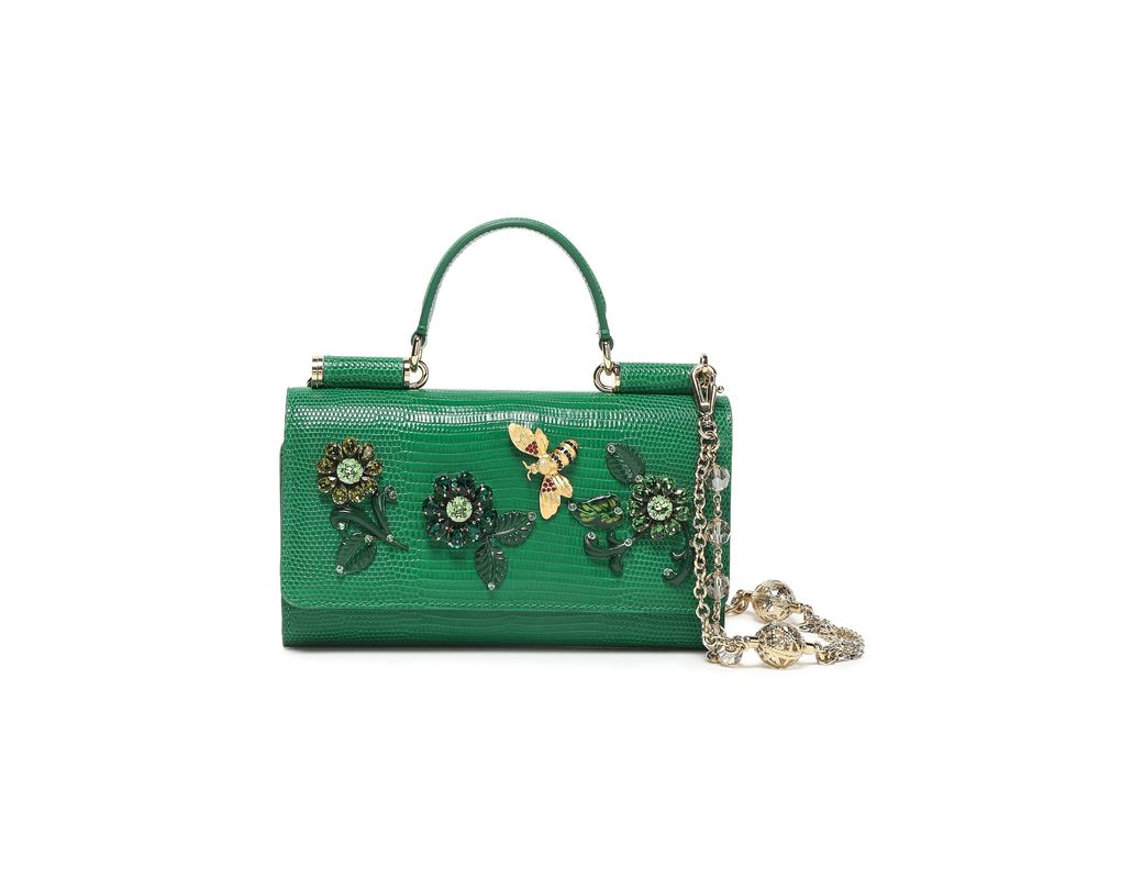 c83ac3043d Dolce & Gabbana Woman Embellished Lizard-effect Leather Iphone Case ...
