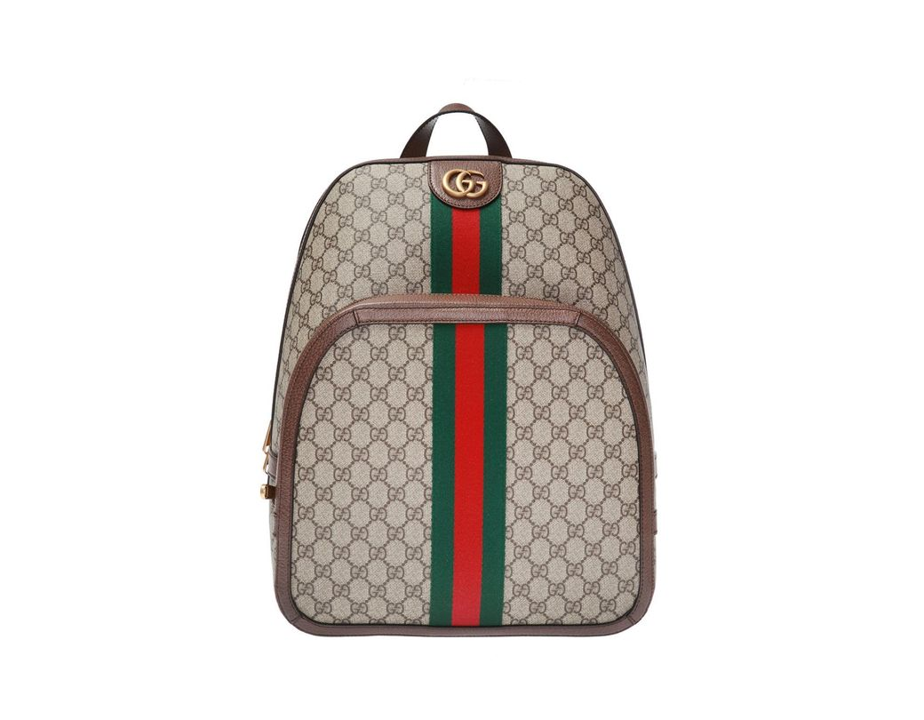 f6d6fbc141f Gucci Ophidia GG Medium Backpack in Brown for Men - Save 4% - Lyst