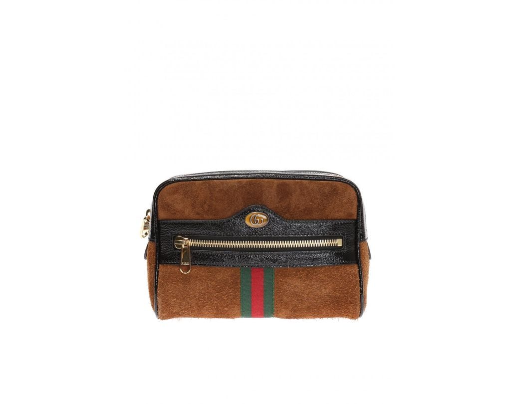 7083fe8a2fa Gucci Ophidia Small Belt Bag in Brown - Save 4% - Lyst