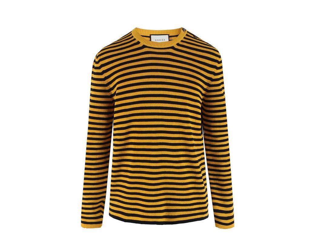 2492339b0e5 Lyst - Gucci Striped Sweater for Men