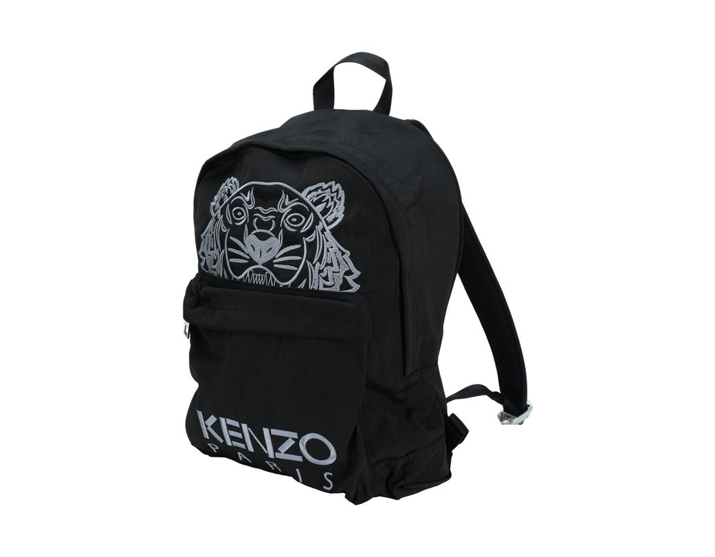 a5393b8539 KENZO Mini Tiger Canvas Backpack in Black for Men - Save 23% - Lyst